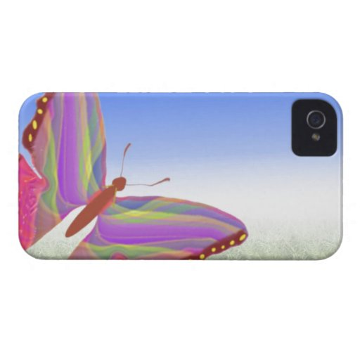 Abstract Butterfly Blackberry Bold Case