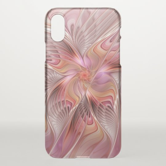 Abstract Butterfly Colourful Fantasy Fractal Art iPhone X Case