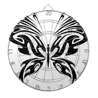Abstract Butterfly Dartboard