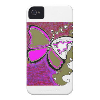 Abstract Butterfly Design 2 Blackberry Case