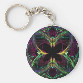 Abstract Butterfly Key Chains