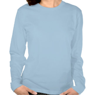 Abstract Butterfly Ladies' Long Sleeve Fine Tee