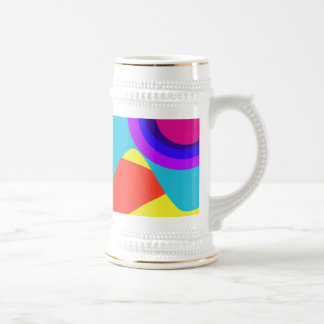 Abstract Butterfly Mug