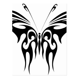 Abstract Butterfly Postcard