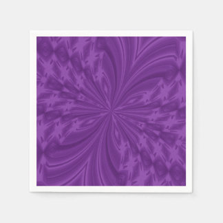 Abstract Butterfly,PURPLE-PAPER PARTY NAPKINS Paper Napkin