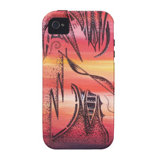 Abstract by DawnSpears iPhone 4/4S Cover