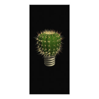 Abstract cactus rack card template
