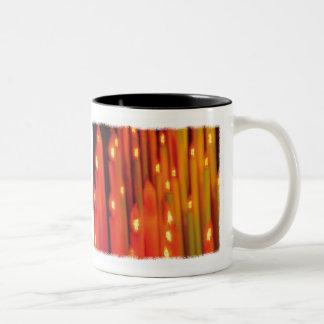 Abstract Candles - mug