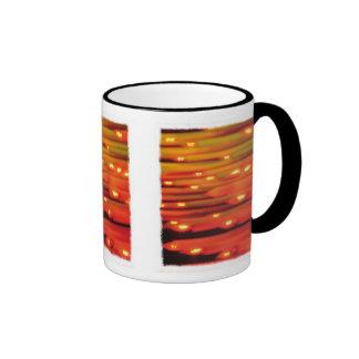 Abstract Candles mug