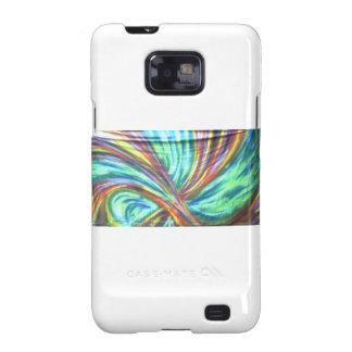 abstract case done with spraypaint galaxy s2 case
