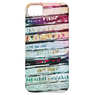 Abstract Cassettes Graphic iPhone 5 Cover
