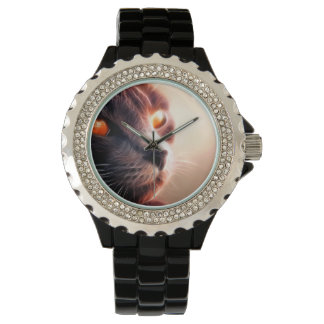 Abstract Cat Pet Watch