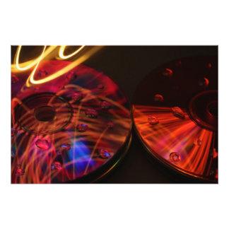 Abstract CD's Photo Print