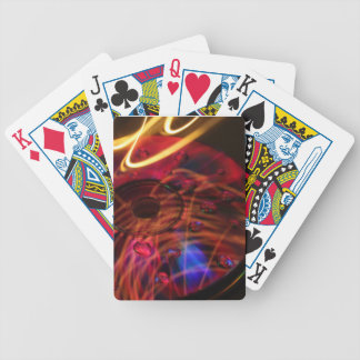 Abstract CD's Bicycle Playing Cards