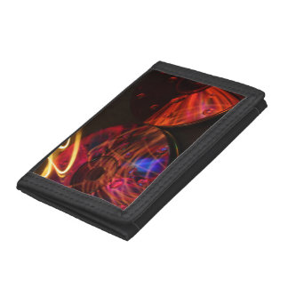 Abstract CD's Trifold Wallets