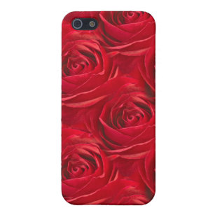Abstract Centre Of Red Rose Wallpaper IPhone 5 5S Cover