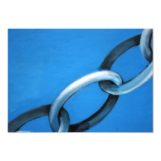 Abstract - chain card