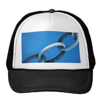 Abstract - chain trucker hats