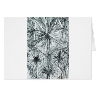 Abstract Chandelier (abstract expressionism) Greeting Card
