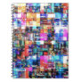 Abstract Chaos of Colours Notebooks