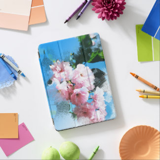 Abstract Cherry Blossom iPad Air Cover