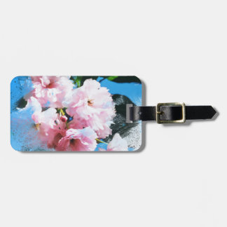 Abstract Cherry Blossom Luggage Tag