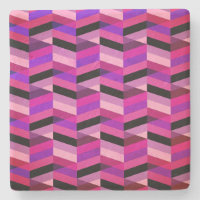 Abstract Chevron/Herringbone | Purples & Violet