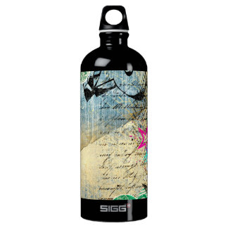 Abstract Chic Design Water Bottle
