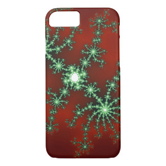 Abstract Christmas Colour Burst iPhone 7 Case