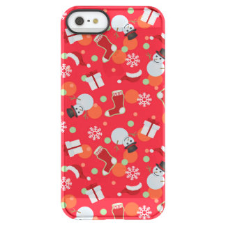 Abstract christmas pattern permafrost® iPhone SE/5/5s case