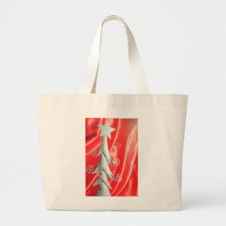 Abstract Christmas tree design Tote Bag
