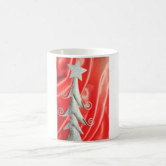 Abstract Christmas tree design Mug