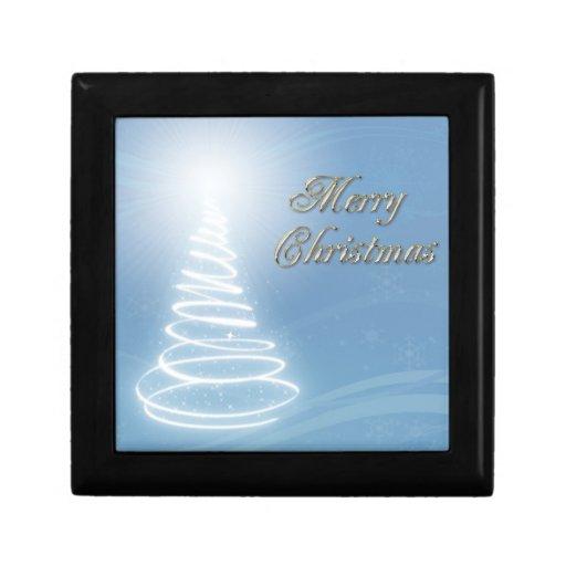Abstract Christmas Tree Gift Boxes