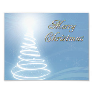 Abstract Christmas Tree Art Photo