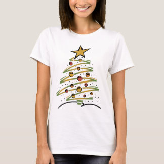Abstract Christmas Tree T-Shirt