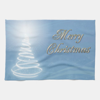 Abstract Christmas Tree Towels