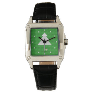 Abstract Christmas Tree women's Wtch Wristwatch