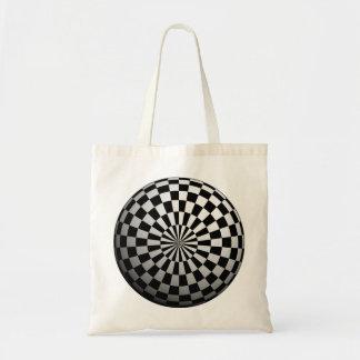 Abstract Circle Budget Tote Budget Tote Bag