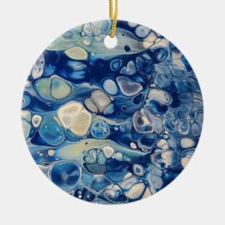 "Abstract Circle Ornament ""Tranquil"""