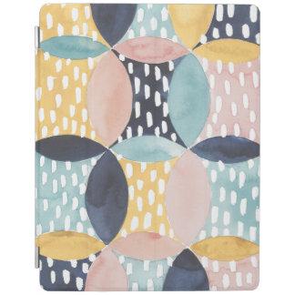 Abstract Circle Pattern iPad Cover