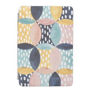 Abstract Circle Pattern iPad Mini Cover