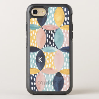 Abstract Circle Pattern OtterBox Symmetry iPhone 8/7 Case