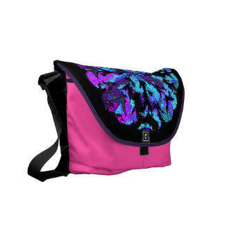 ABSTRACT CIRCLE WYCINANKI G COURIER BAGS