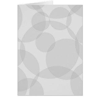 Abstract Circles Card