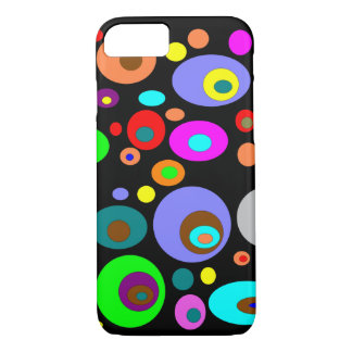 Abstract Circles iPhone 8/7 Case