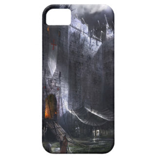 Abstract City Medieval Castle iPhone 5 Case