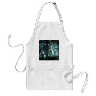 Abstract City Priest World Standard Apron
