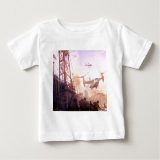 Abstract City Security Baby T-Shirt