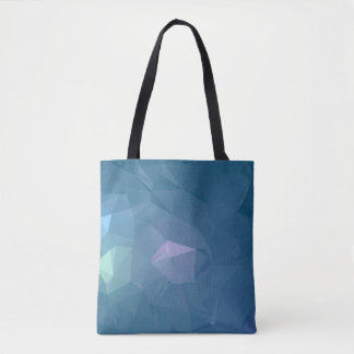 Abstract & Clean Geo Designs - Blue Iron Tote Bag
