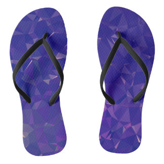 Abstract & Clean Geo Designs - Electric Dragon Thongs